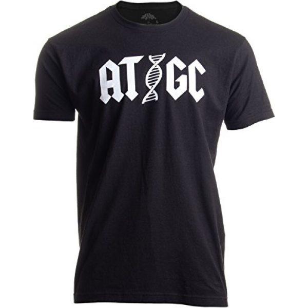 Ann Arbor T-shirt Co. Graphic Tshirt 1 ATGC   Funny Chemistry Chemist Biology Science Teacher for Men Women DNA T-Shirt
