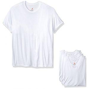 Hanes Graphic Tshirt 1 Men's Comfortblend Crewneck T-Shirt with Freshiq Multipack