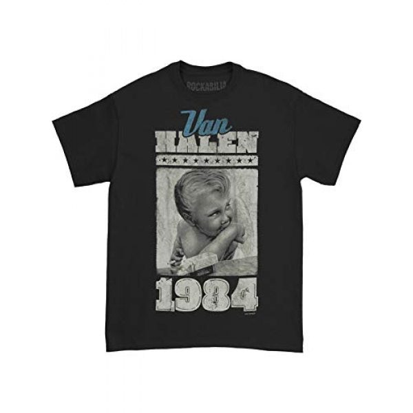 FEA Graphic Tshirt 3 Van Halen Vintage Baby Jumbo Adult T-Shirt