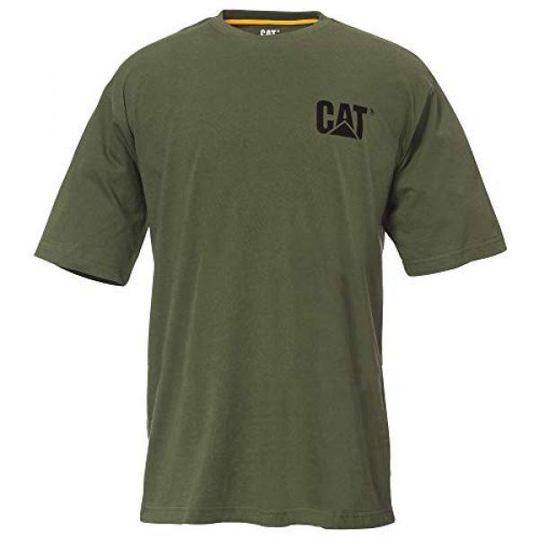 Caterpillar Graphic Tshirt 1 Men's Cat Trademark Premium Cotton T-Shirt