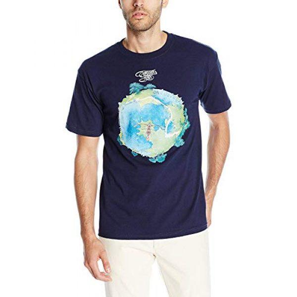 Liquid Blue Graphic Tshirt 1 Men's Fragile T-Shirt
