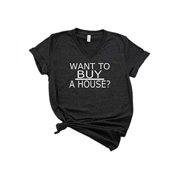 IGYS Graphic Tshirt 1 Want to Buy A House Realestate Tees Real Estate T-Shirts Womens Tees