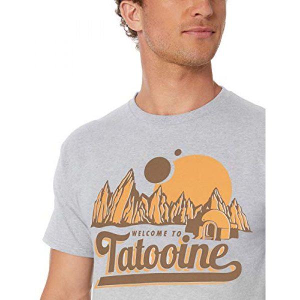 Star Wars Graphic Tshirt 2 Men's Classic Welcome to Tatooine Skywalker Mos Eisley T-Shirt