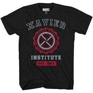 Marvel Graphic Tshirt 1 Avengers X-Men Professor Xavier Institute Logo Fantastic Four X-Force Adult Tee Graphic T-Shirt for Men Tshirt