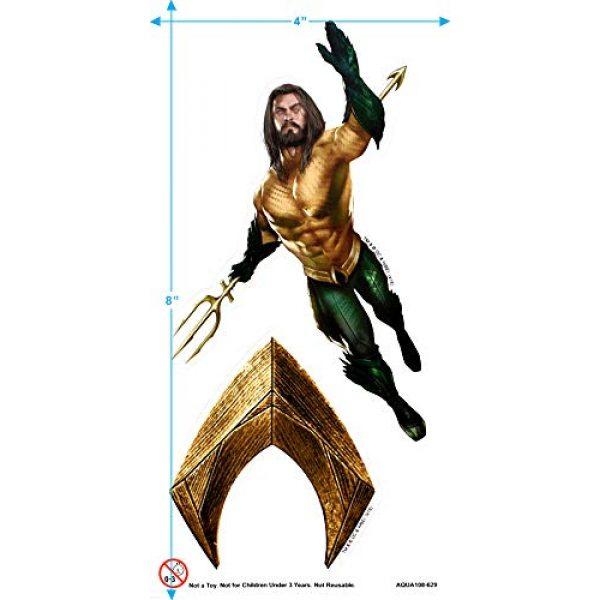 Popfunk Graphic Tshirt 3 Aquaman Movie Jason Mamoa Trident T Shirt & Stickers