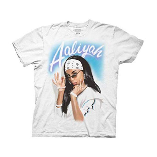 Ripple Junction Graphic Tshirt 1 Aaliyah Adult Airbrush Bandana Photo Heavy Weight 100% Cotton Crew T-Shirt