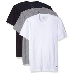 Nautica Graphic Tshirt 1 Cotton Crew Neck T-Shirt-Multi Packs