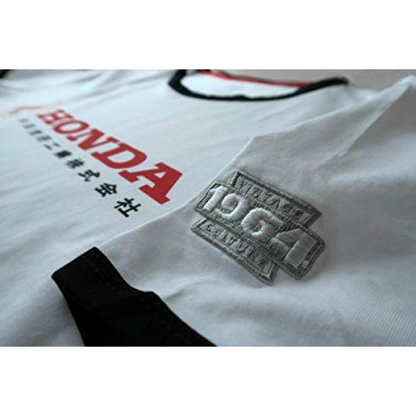 Vintage Culture Graphic Tshirt 4 Officially Licensed Honda 1964 Japan Brand Tee Shirt White