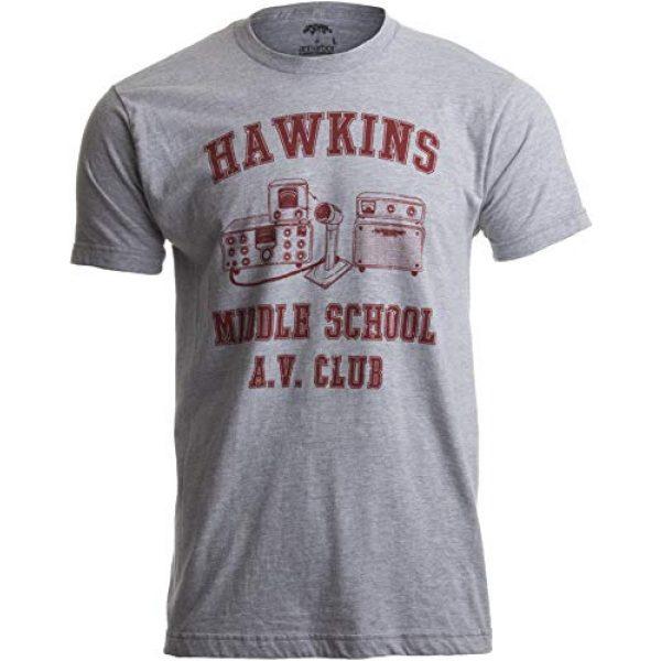Ann Arbor T-shirt Co. Graphic Tshirt 1 Hawkins Middle School A.V. Club | Vintage Style 80s Costume AV Hawkin T-Shirt