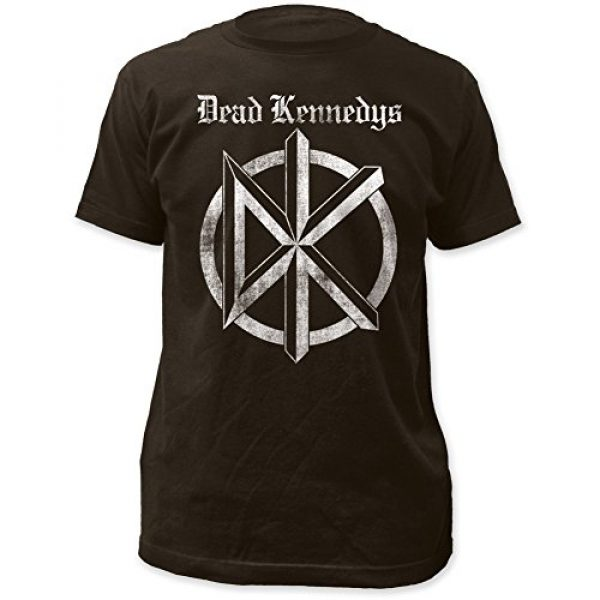 Impact Graphic Tshirt 1 Dead Kennedys Distressed Old English Logo Print Men's Cotton Shirt