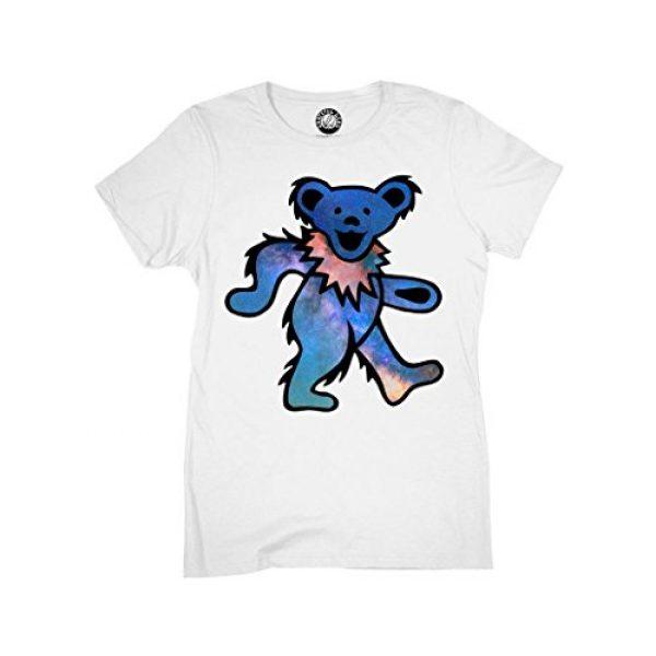 Ripple Junction Graphic Tshirt 1 Grateful Dead Juniors Space Bear Light Weight 100% Cotton Crew T-Shirt