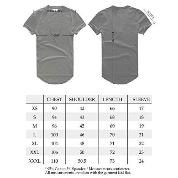 Zecmos Graphic Tshirt 7 Mens Deep V Neck T-Shirt Unisex Tshirt Male Vneck Tee Top