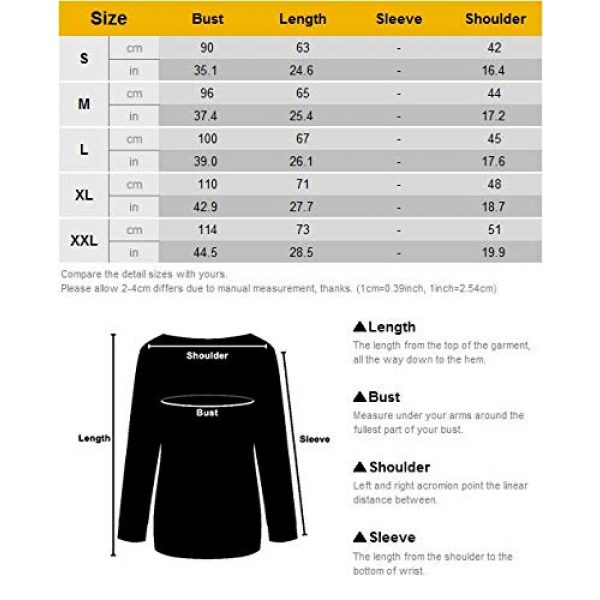 Nlife Graphic Tshirt 6 Thou Shall Not Try Me Oversized Sweatershirt Graphic Tee Shirt for Womens Fall Tops