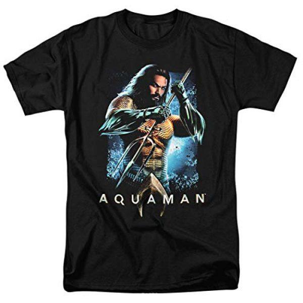 Popfunk Graphic Tshirt 1 Aquaman Movie Jason Mamoa Trident T Shirt & Stickers
