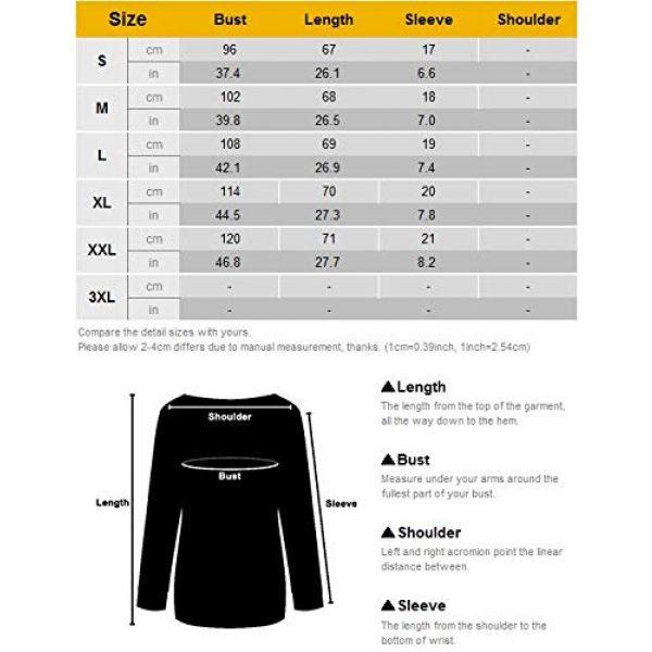 OUNAR Graphic Tshirt 7 Women Schrute Farms Shirt Cute The Office Graphic T-Shirt Sweatshirt with Pocket