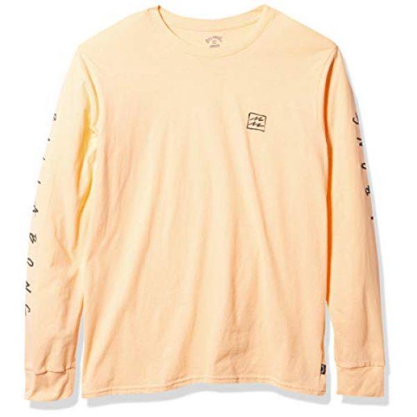 Billabong Graphic Tshirt 1 Men's Long Sleeve Premium Logo Graphic T-Shirt