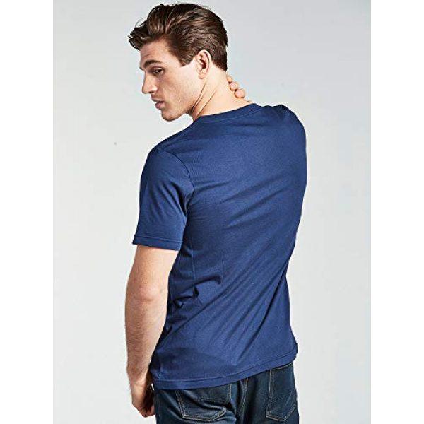 Bolter Graphic Tshirt 7 4 Pack Men's Everyday Cotton Blend V Neck Short Sleeve T Shirt