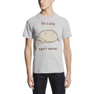 Pusheen Graphic Tshirt 1 Men's So Lazy Cant Move T-Shirt