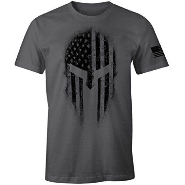 Fantastic Tees Graphic Tshirt 1 USA American Spartan Molon Labe Patriotic Men's T Shirt