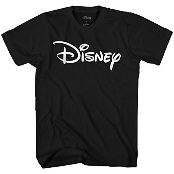Disney Graphic Tshirt 1 Men's Officially Licensed White Logo Adult Graphic Tee T-Shirt