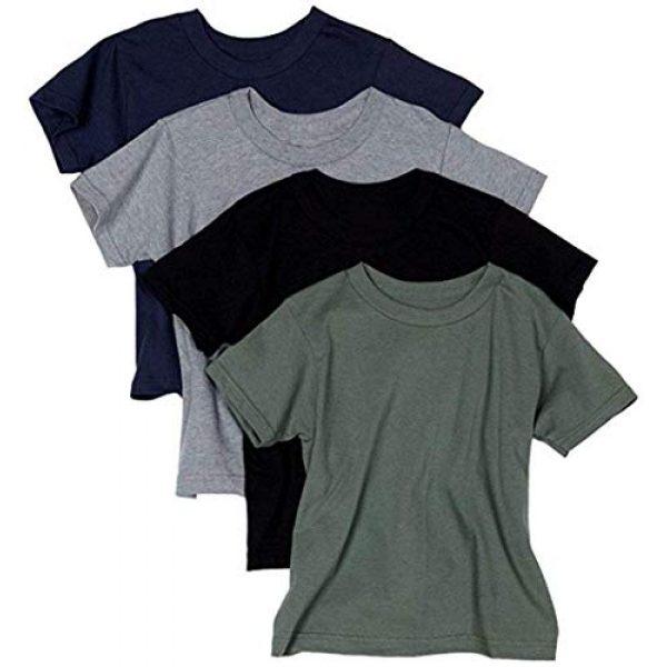 Hanes Graphic Tshirt 1 byHanes Men's ComfortSoft T-Shirt (Pack of 4)