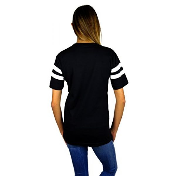 Disney Graphic Tshirt 2 Womens Mickey Mouse Varsity Football Tee