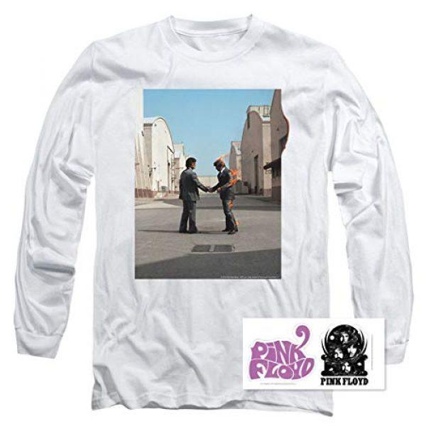 Popfunk Graphic Tshirt 2 Pink Floyd Wish You were Here Rock Album Longsleeve T Shirt & Stickers