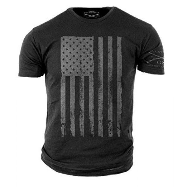 Grunt Style Graphic Tshirt 1 America Patriotic Flag Mens Shirt