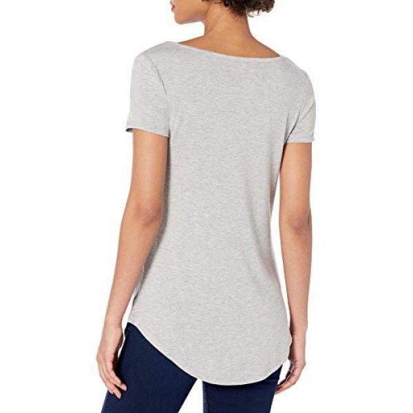 Daily Ritual Graphic Tshirt 3 Amazon Brand - Daily Ritual Women's Jersey Short-Sleeve Scoop-Neck Longline T-Shirt