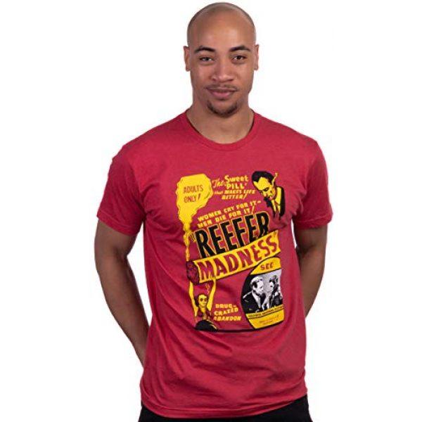 Ann Arbor T-shirt Co. Graphic Tshirt 2 Reefer Madness (1936 Poster) | Funny Absurd Vintage Drug War Marijuana Weed Pot Propaganda Men Women T-Shirt