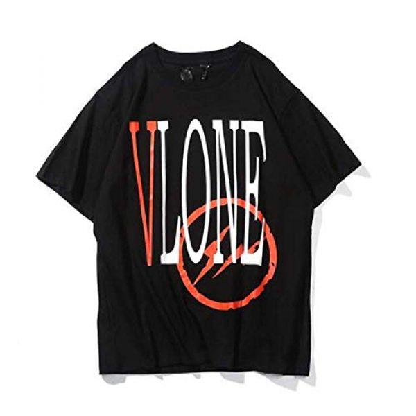 Yoaims Graphic Tshirt 1 Mens T-Shirt Big V Men Women Cotton Basic Tees Short-Sleeves Couple Crew Neck Tee Limited