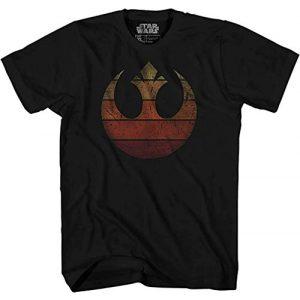 Star Wars Graphic Tshirt 1 Rebel Alliance Rebellion Last Jedi Luke Rey Leia Chewbacca R2D2 Adult Tee Graphic T-Shirt for Men Tshirt Apparel Clothing