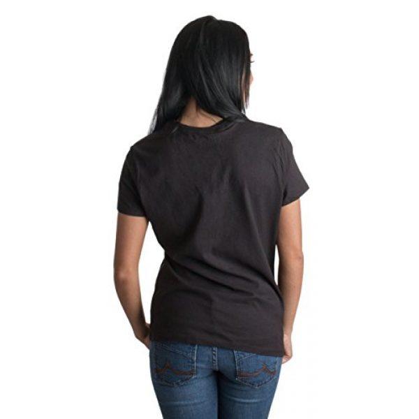Ann Arbor T-shirt Co. Graphic Tshirt 2 Skeleton Rib Cage | Jumbo Print Novelty Halloween Costume Ladies' T-Shirt