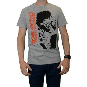 Bioworld Graphic Tshirt 1 Cowboy Bebop Spike Grey T-Shirt