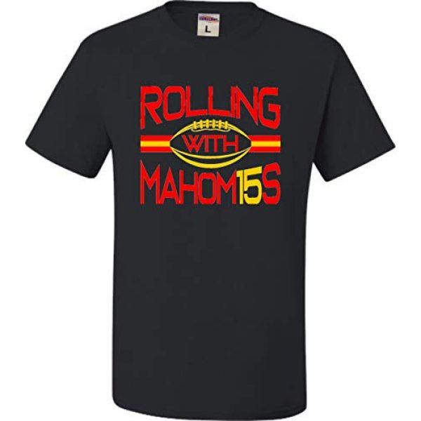 Go All Out Graphic Tshirt 1 Adult Rolling with Mahom15s T-Shirt