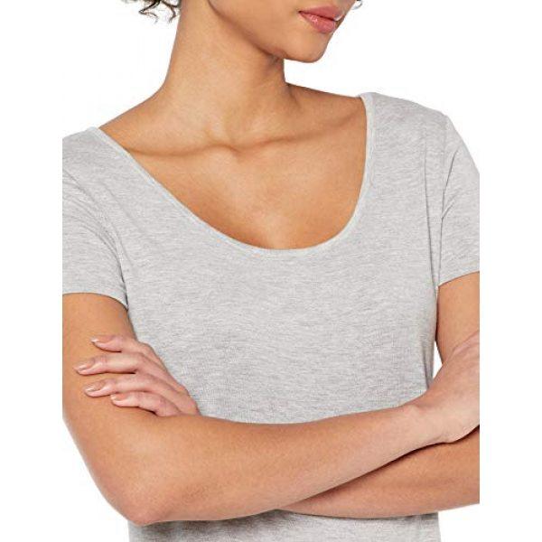 Daily Ritual Graphic Tshirt 4 Amazon Brand - Daily Ritual Women's Jersey Short-Sleeve Scoop-Neck Longline T-Shirt