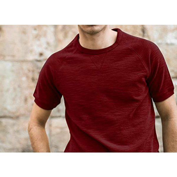PEGENO Graphic Tshirt 3 Men's Spring-Summer Short-Sleeve T-Shirt Slim Bottoming Shirts