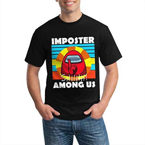 Zulfdli Graphic Tshirt 3 Among Us 3D T-Shirt Print Fabric Soft, Comfortable and Dry for All-Day Comfort
