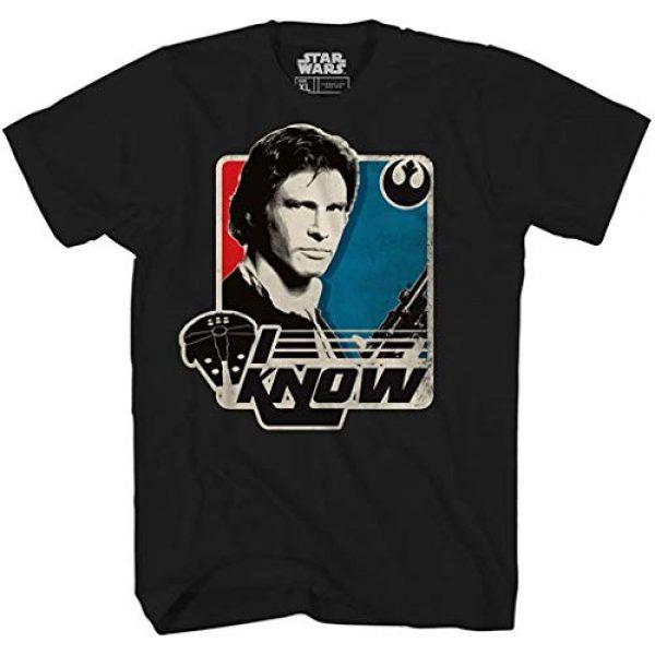 Star Wars Graphic Tshirt 1 Han Solo I Know Princess Leia Millennium Falcon Funny Humor Pun Adult Tee Graphic T-Shirt for Men Tshirt