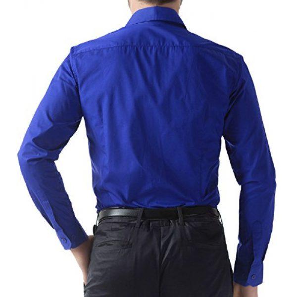 PJ PAUL JONES Graphic Tshirt 2 Paul Jones Men's Long Sleeves Button Down Dress Shirts