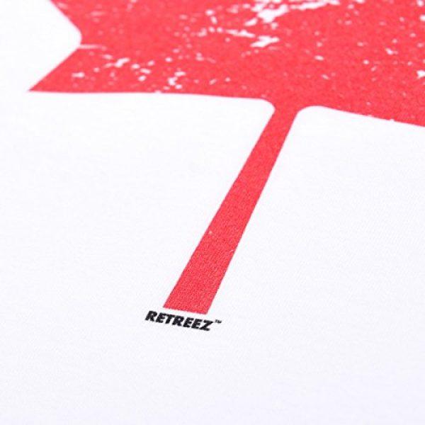 Retreez Graphic Tshirt 4 Vintage Canada Canadian The Maple Leaf Flag Graphic Printed T-Shirt Tee