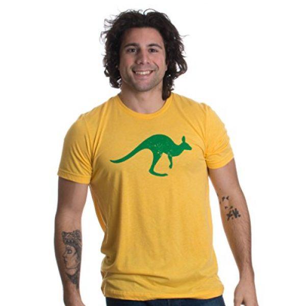 Ann Arbor T-shirt Co. Graphic Tshirt 1 Vintage Style Australia   Aussie Roo + Southern Cross Unisex Triblend T-Shirt