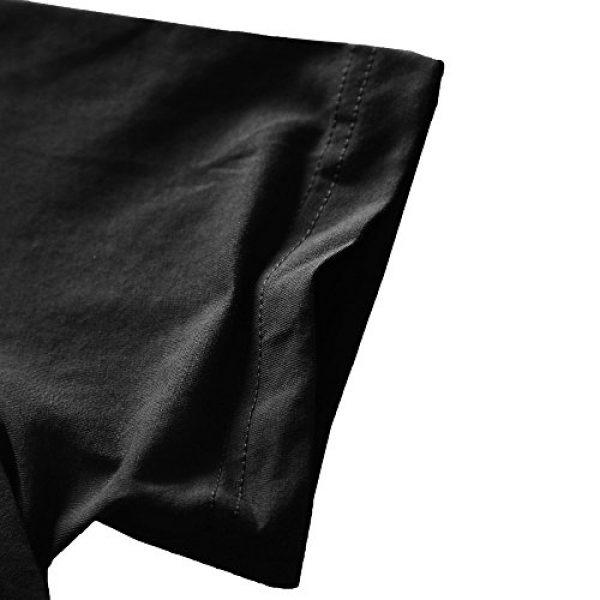 Zecmos Graphic Tshirt 4 Mens Deep V Neck T-Shirt Unisex Tshirt Male Vneck Tee Top