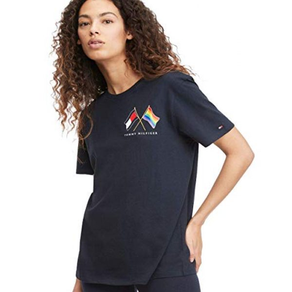Tommy Hilfiger Graphic Tshirt 1 Women's Unisex Pride T Shirt