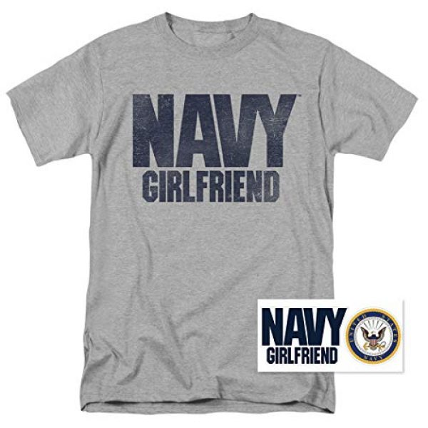 Popfunk Graphic Tshirt 2 U.S. Navy Girlfriend T Shirt & Stickers