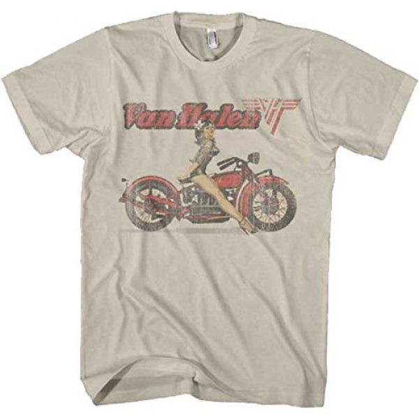 FEA Graphic Tshirt 1 Van Halen - Biker Girl Pin Up T-Shirt