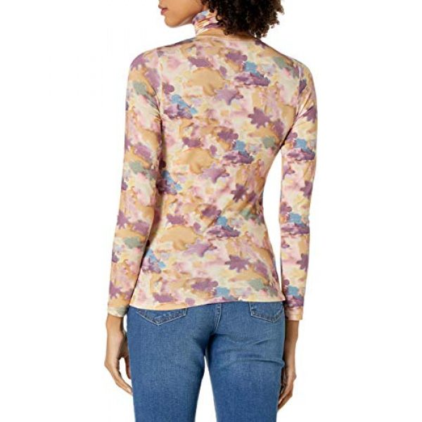 Graphic Tshirt 2 Women's Phoebe Long Sleeve Turtleneck Second Skin T-shirt