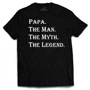 Market Trendz Graphic Tshirt 3 Papa The Man The Myth The Legend Tshirt