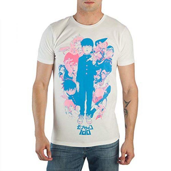 Bioworld Graphic Tshirt 1 Mob Psycho Group White T-Shirt