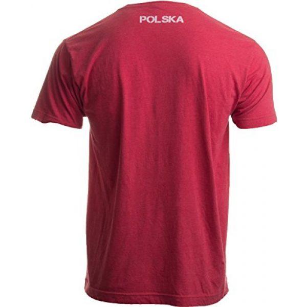 Ann Arbor T-shirt Co. Graphic Tshirt 2 Poland Pride | Vintage Style, Retro-Feel Polish Eagle Polska Unisex T-Shirt